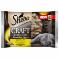 Sheba Craft Collection Adult Dania drobiowe w sosie Mokra karma dla kota op. 4x85g + 4x85g GRATIS