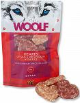 Woolf Przysmak Hearts of Duck or Chicken with Rice op. 100g WYPRZEDAŻ
