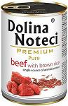 Dolina Noteci Premium Pure Beef with brown rice 400g