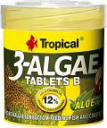 Tropical Pokarm 3-Algae Tablets B dla rybek op. 200 tabletek