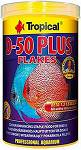 Tropical Pokarm D-50 PLUS Flakes dla rybek op. 50g