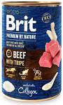 Brit Premium by Nature Beef with Tripe Mokra Karma dla psa op. 400g