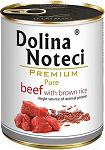 Dolina Noteci Premium Pure Beef with brown rice 800g