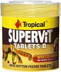 Tropical Pokarm Supervit Tablets B dla rybek op. 200 tabletek