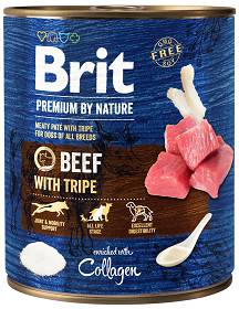 Brit Premium by Nature Beef with Tripe Mokra Karma dla psa op. 800g