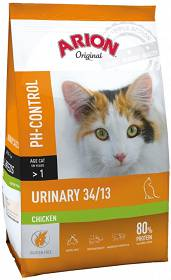 Arion Original Cat Urinary 34/13 Chicken Sucha Karma dla kota op. 7.5kg